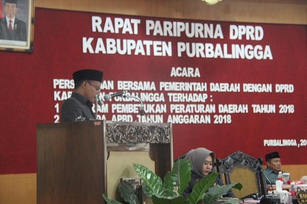 2018, PEMKAB PURBALINGGA TARGETKAN PAD SEBESAR RP 256,52