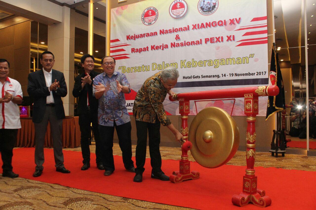 Ganjar Tertarik Permainan Xiangqi Pemerintah Provinsi Jawa Tengah