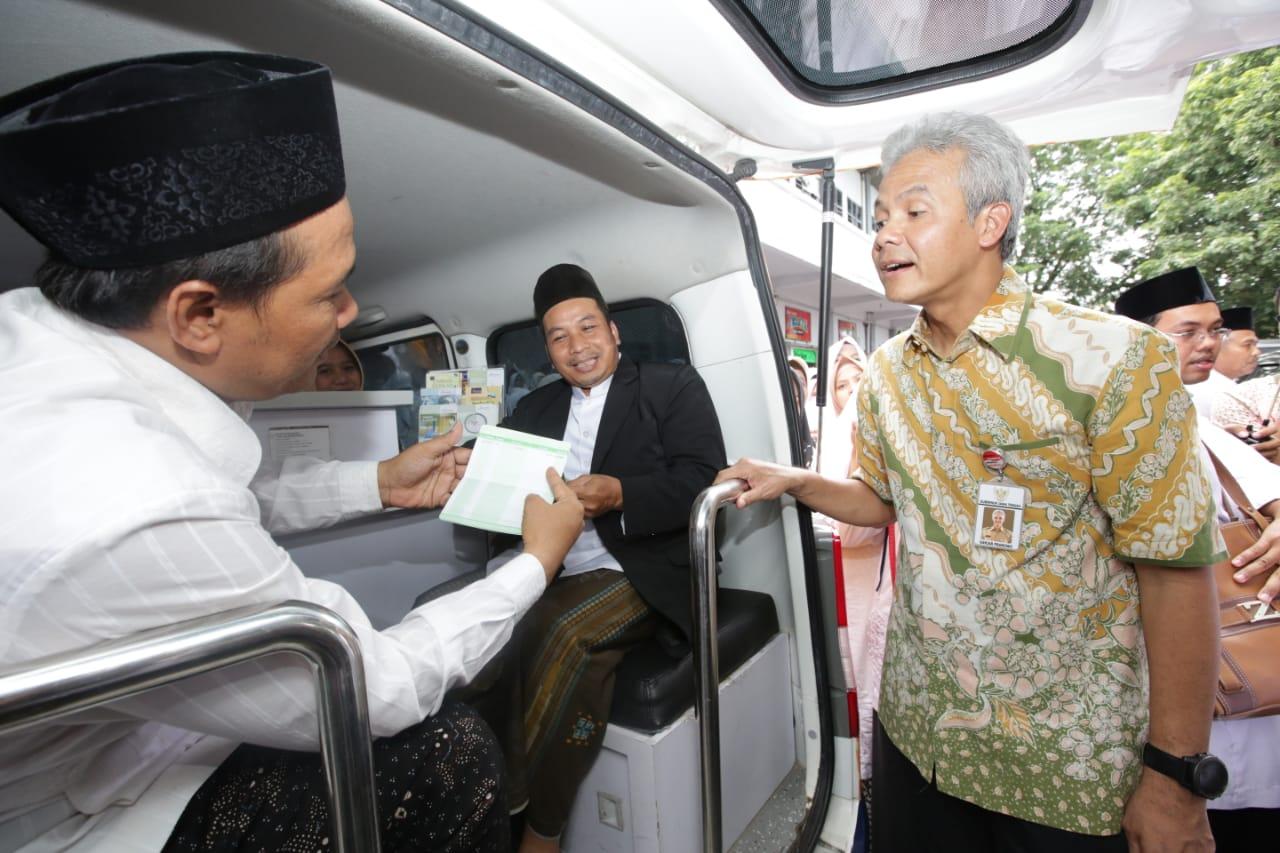 Ganjar Ini Penghormatan Kami Untuk Guru Ngaji Pemerintah Provinsi Jawa Tengah