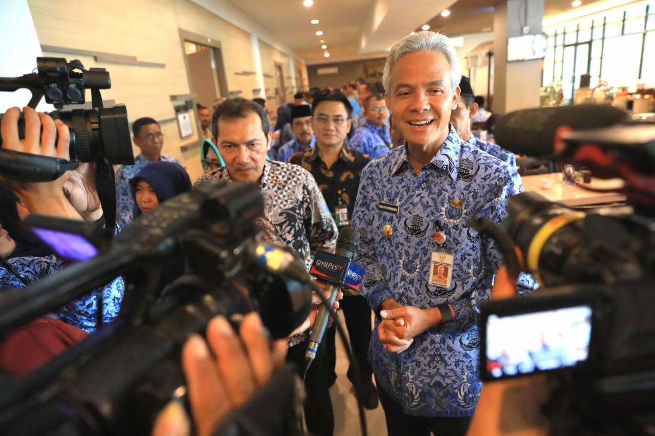 Ulang Tahun ke-472, Ini Pesan Ganjar Untuk Kota Semarang