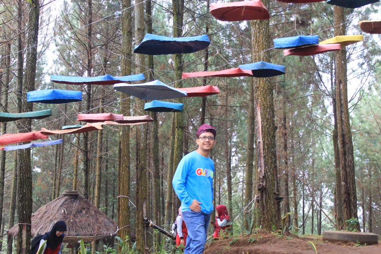 Wisata Bukit Seribu Besek Sambut Wisatawan Luar Daerah