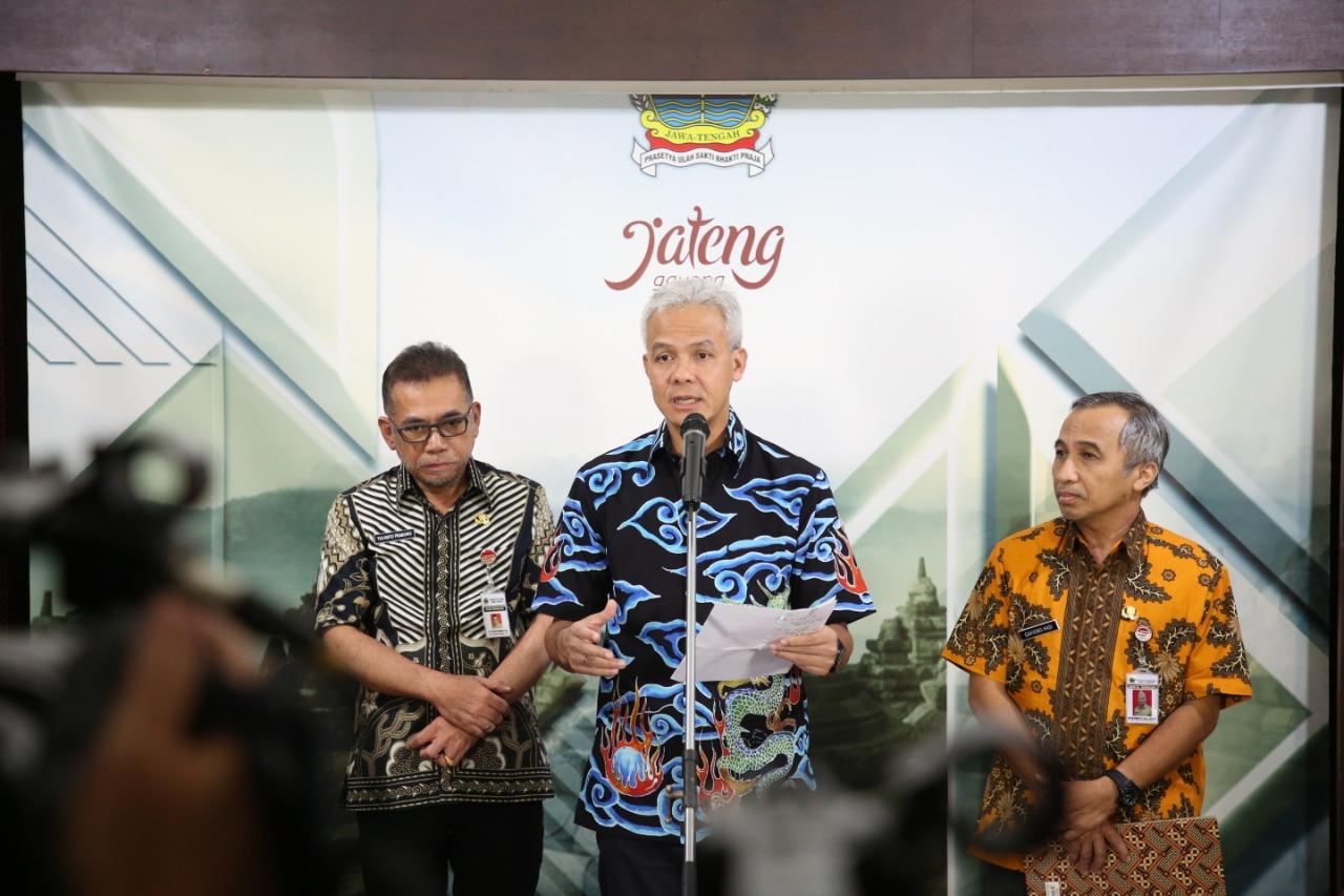 Ganjar Konfirmasi Warga Solo Yang Positif Corona Pemerintah Provinsi Jawa Tengah