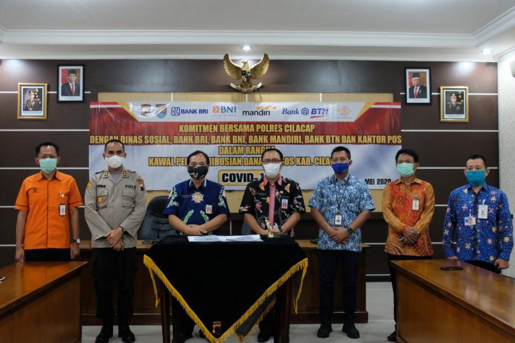 Minimalisasi Penyimpangan Distribusi Dana Bansos Di Cilacap Dikawal Ketat Pemerintah Provinsi Jawa Tengah