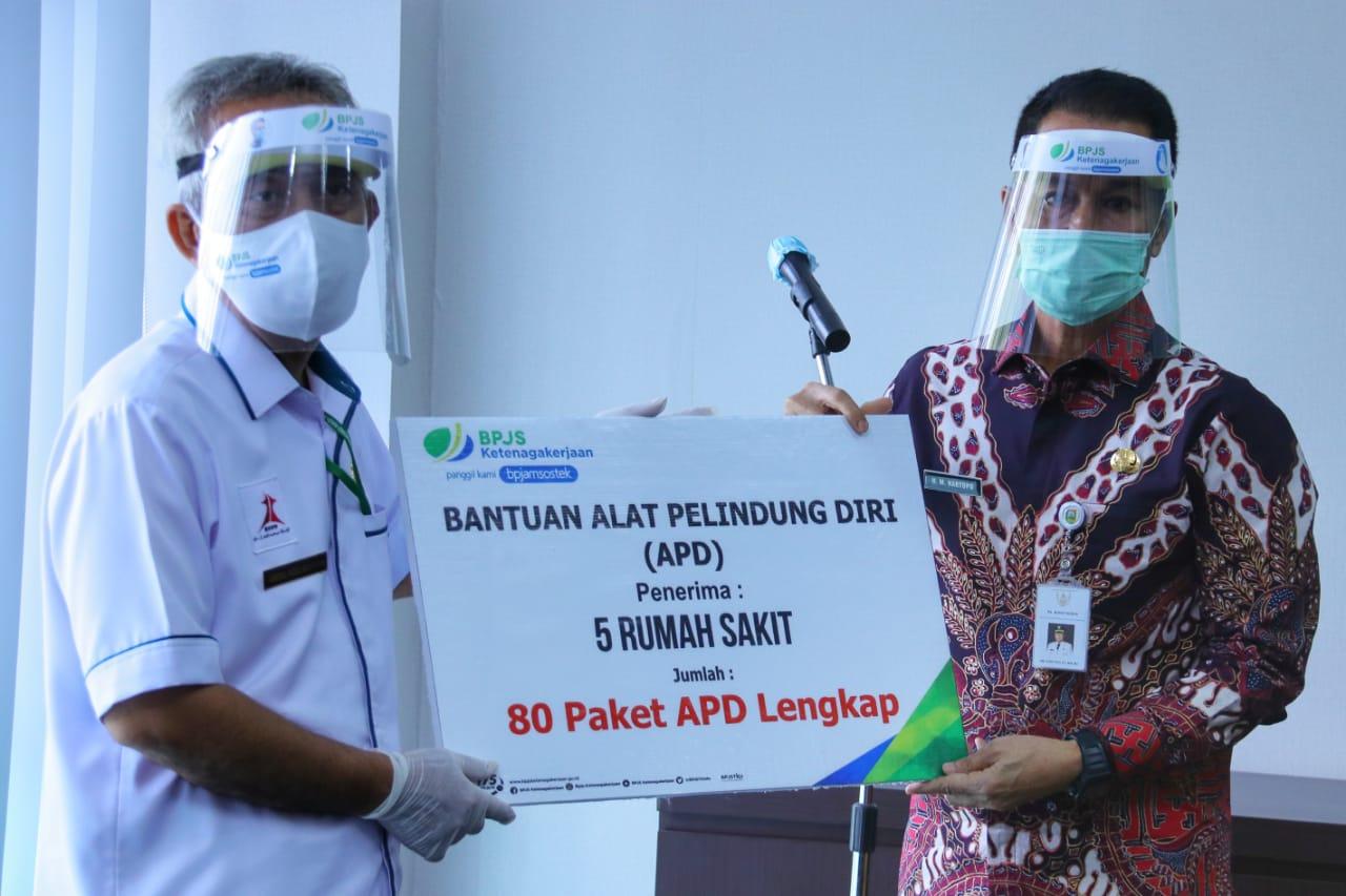 Bpjs Ketenagakerjaan Bantu Apd Pada 5 Rs Pemerintah Provinsi Jawa Tengah