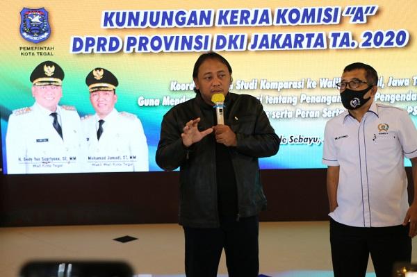 Zona Hijau Kota Tegal Jadi Rujukan Dprd Dki Jakarta Tangani Covid 19 Pemerintah Provinsi Jawa Tengah
