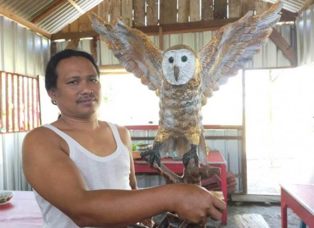 Sukses Jadi Desa Wisata Edukasi Warga Bidik Usaha Suvenir Burung Hantu Pemerintah Provinsi Jawa Tengah