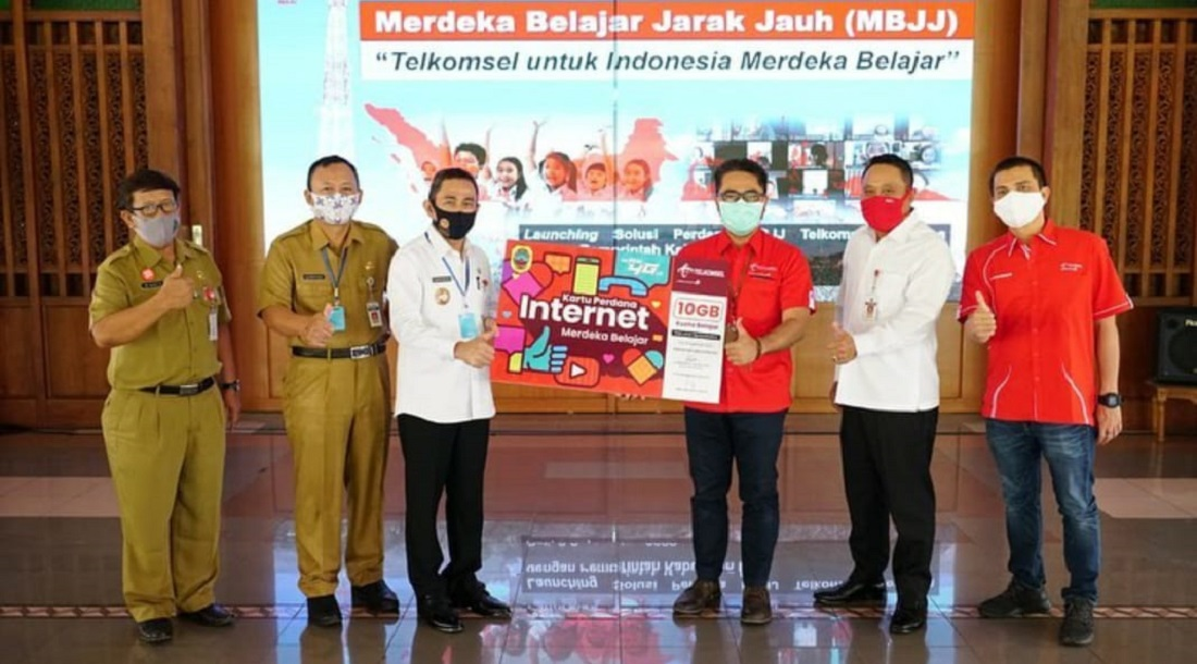 Puluhan Ribu Paket Perdana Untuk Pembelajaran Daring Di Pati Pemerintah Provinsi Jawa Tengah